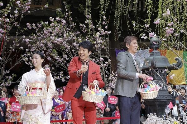 野村萬斎「笑って泣けて最後は両方一緒になるような映画」映画「花戦さ」6・3公開
