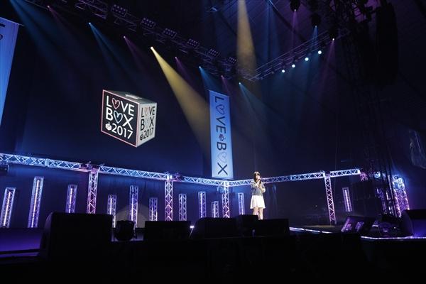 <p>佐々木李子「LOVE BOX 2017」</p>