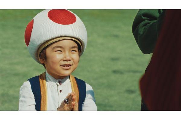 生田斗真、池松壮亮、二階堂ふみ、寺田心がマリオらになって「デカビタC」のエナジーチャージ!