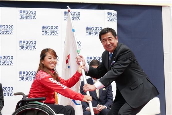 国分太一、台東区の思い出は「上野駅前で山口君が自衛隊にスカウトされた」東京2020オリンピック・パラリンピック フラッグツアー