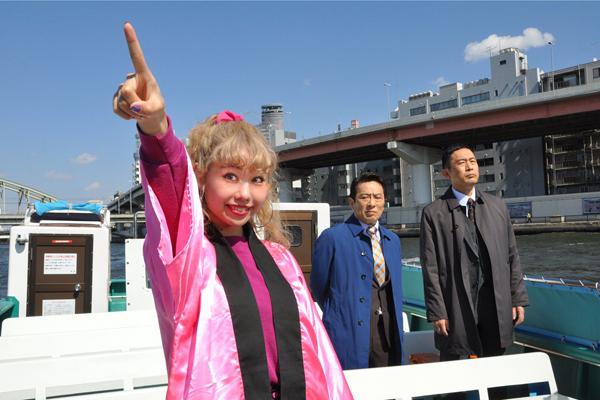 """ぺこがりゅうちぇる""""公認""""で憧れの内藤剛志と初共演"""