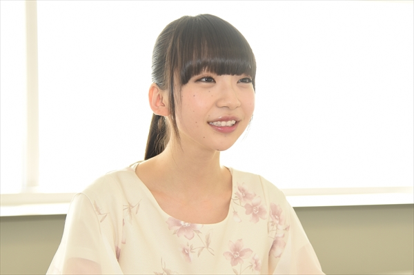 <p>NGT48副キャプテン・荻野由佳</p>