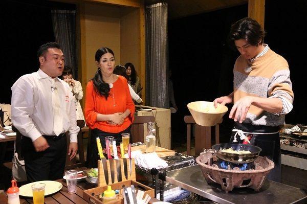 香取慎吾、山崎弘也、速水もこみち、アンミカが茨城の高級ブランド肉を食べまくり!!