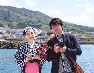 『楽しさいっぱい写真旅』写真家の上田晃司が伊豆大島を巡る。