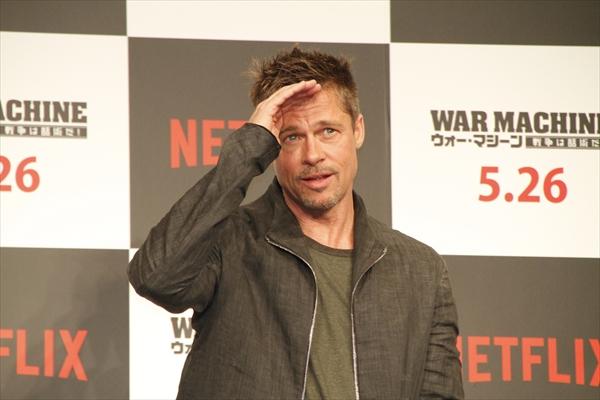 B・ピット、ジョーク連発も新作「ウォー・マシーン」に自信「Netflixだからこそ大胆に仕上がった」