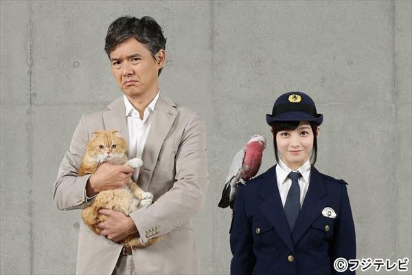 渡部篤郎と橋本環奈がコンビ結成!7月新ドラマ『警視庁いきもの係』で初共演