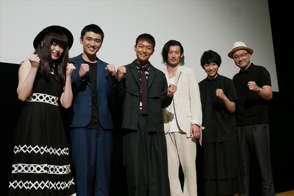 「日本にはない映画になっている」淵上泰史&田中俊介W主演「ダブルミンツ」初日舞台挨拶