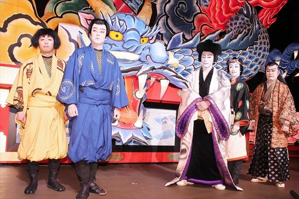 市川海老蔵、歌舞伎初挑戦の中山優馬を絶賛「センスがいい」ABKAI2017『石川五右衛門~外伝』