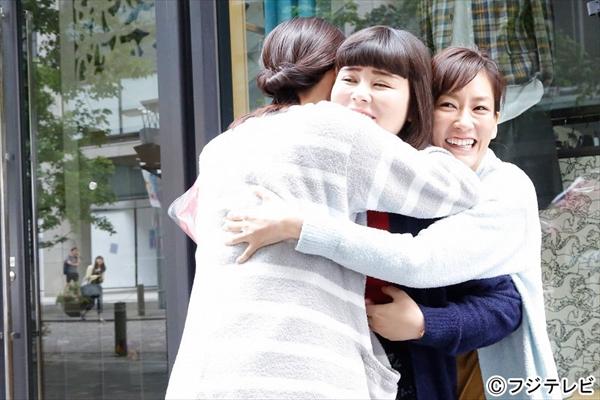 桐谷美玲&水川あさみ&ブルゾンちえみが涙のクランクアップ『人は見た目』6・15最終回
