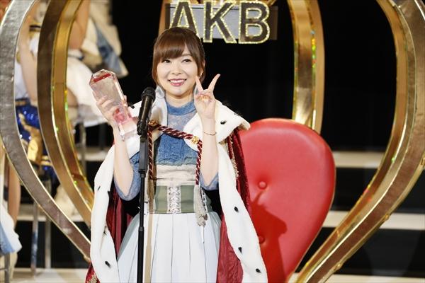 指原莉乃 3連覇、渡辺麻友 卒業、荻野由佳 5位…盛りだくさんの「AKB48選抜総選挙」Phレポート
