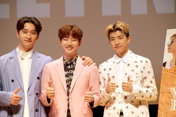 バイト旅行でメンバーの新たな一面が!?「ジュノはとても心配性」「2PM WILD BEAT」BD&DVDリリース記念 来日記者会見