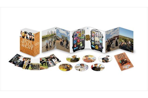 2PMの素顔がそのまま!『2PM WILD BEAT』BD&DVDパッケージ公開