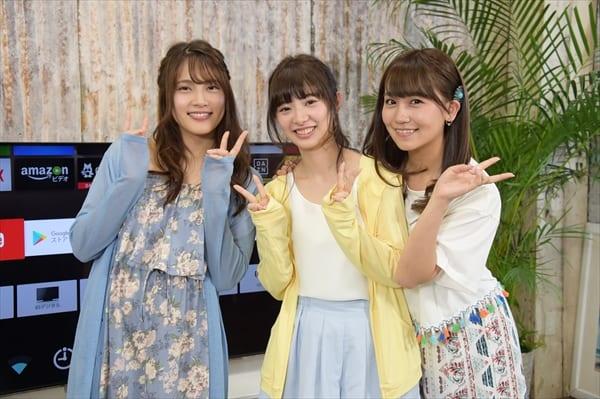 入山杏奈、武藤十夢、小嶋真子がAKB48歴代MVで大盛り上がり!