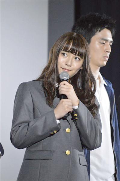 <p>映画「人狼ゲーム マッドランド」初日舞台あいさつ</p>