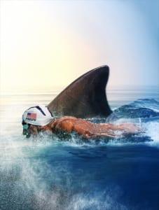 『サメVS人間 速いのはどっちだ!』