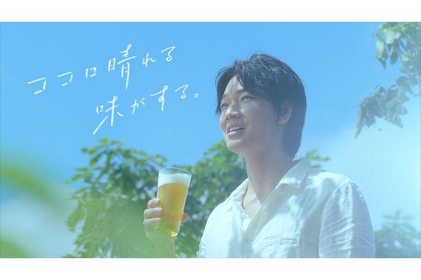 綾野剛&谷口蘭が「淡麗グリーンラベル」新CMでさわやか若夫婦に!楽曲は大橋トリオが書き下ろし