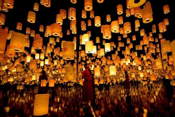 中川翔子「夢の世界!」ディズニー・アート展にラプンツェルの世界が出現