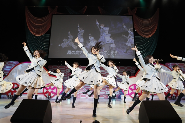 トップリード公演 初日センターは太田奈緒!AKB48チーム8『エイトの日』【夜公演】レポート
