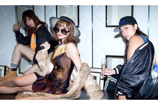 夜遊び、シャンパン大好き!恵比寿★マスカッツ・明日花キララが新ユニット結成