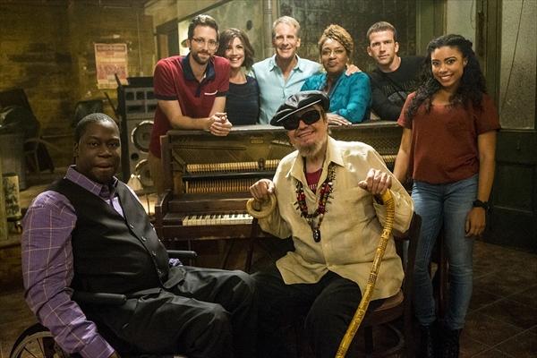 大人気海外ドラマ「NCIS:ニューオーリンズ シーズン2」メインキャストとドクター・ジョンの豪華写真公開
