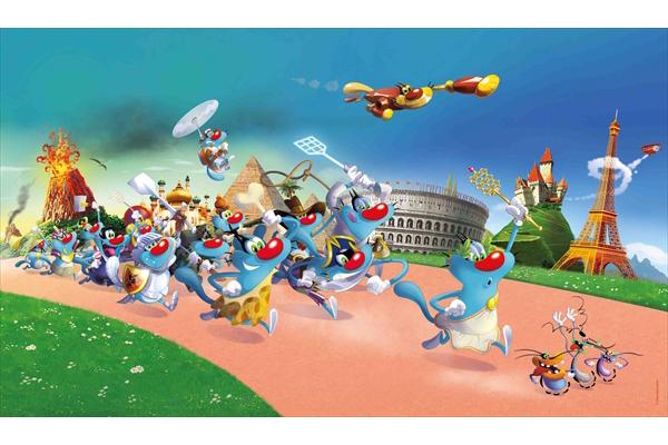 フランス発の大人気アニメ「オギー&コックローチ3」カートゥーンNで日本初放送