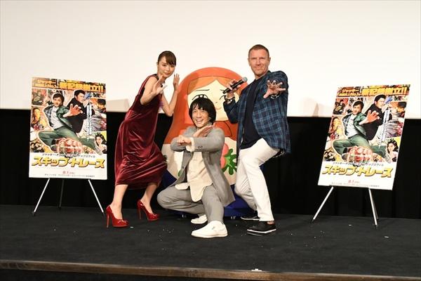 レニー・ハーリン監督、内田理央&ジャッキーちゃんにドはまり!「今すぐキャスティングしたい!」