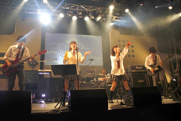 『ニドナツ』村上虹郎、吉田円佳、加藤玲奈、山田裕貴がライブハウスで生演奏「一瞬一瞬が楽しかった!」