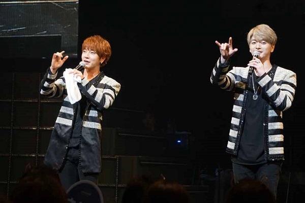 """超新星""""お兄ちゃん""""2人の全国ツアーが広島で開幕!"""