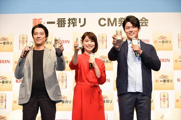 堤真一、鈴木亮平、石田ゆり子「キリン 新・一番搾り」CM公開!堤「舞台後のビールが一番」