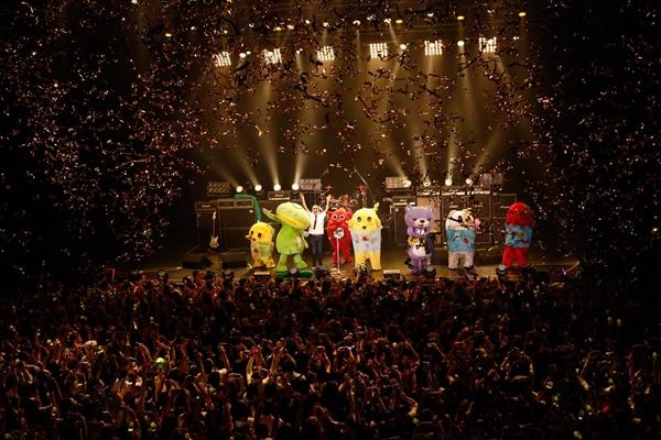 ふなっしーのライブハウスツアー東京公演 BSスカパー!で10・14放送