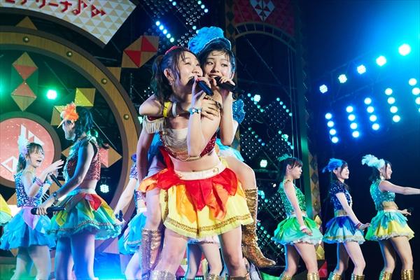 SKE48チームE サマステ単独ライブ CSテレ朝chで10・7放送