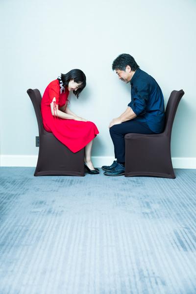 <p>広瀬すず×是枝裕和監督インタビュー</p>
