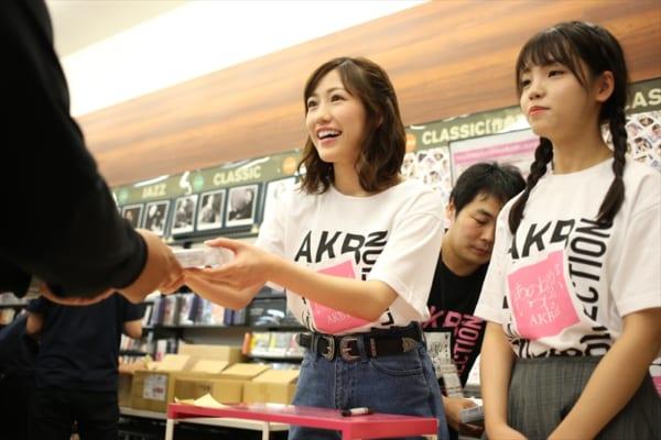 渡辺麻友「心してご覧になって!」AKB48のMVクリップ集お渡し会 全国で同時開催