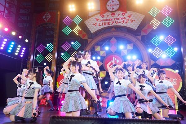 AKB48 チーム8 サマステ単独ライブ CSテレ朝chで10・15放送