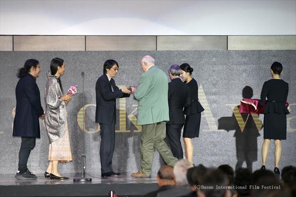 錦戸亮主演『羊の木』釜山映画祭でキム・ジソク賞を受賞