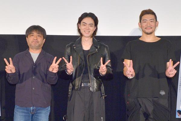 菅田将暉が岸善幸監督の想いに感謝「皆拍手!」『あゝ、荒野』後篇舞台あいさつ