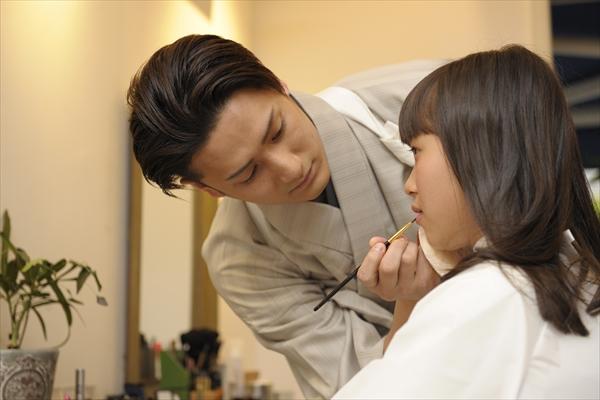 歌舞伎俳優・中村隼人が女性のメイクに初挑戦「緊張する~」