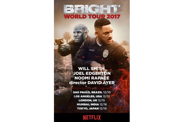 ウィル・スミス、Netflix映画『ブライト』引っ提げ14回目の来日決定