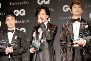 『GQ MEN OF THE YEAR2017』
