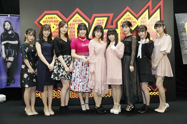 「天神映画祭」で本村碧唯らが舞台あいさつ『HKT48 6フェス』1日目レポート