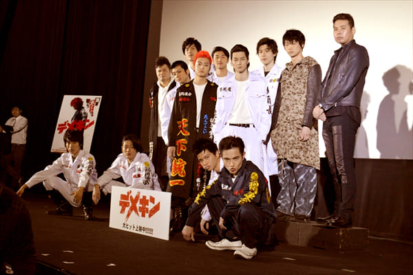 健太郎&山田裕貴「デメキン」舞台挨拶で互いに「愛してるよ」