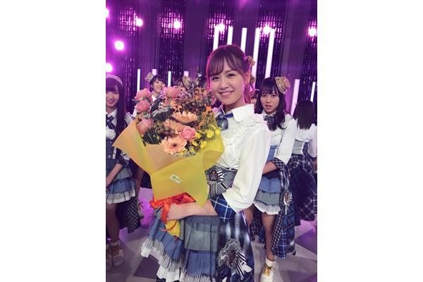 SKE48・佐藤すみれ「感謝の気持ちでいっぱい」最後の歌収録はチームEメンバーと