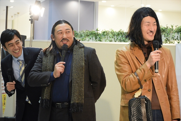 『ロバートの秋山竜次音楽事務所』DVD発売イベント開催!秋山は「体ものまね」披露