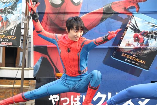 """""""スガイダーマン""""須賀健太、キレッキレのポーズでアピール「日本版スパイダーマンやりたい」"""