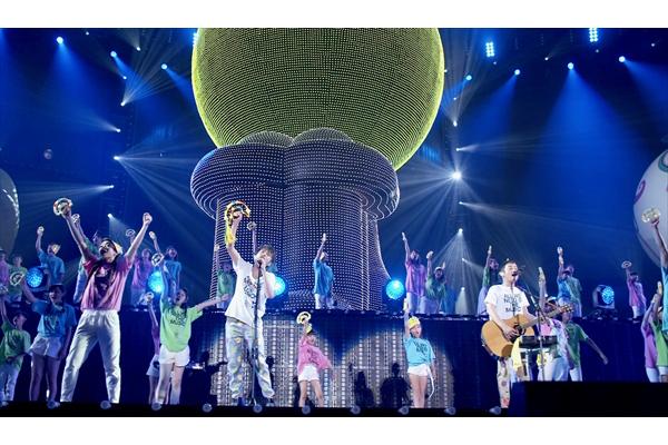 ゆずが12・22『Mステスーパーライブ』で観客3000人と生タンバリンパフォーマンス「迷ったら僕を見て」