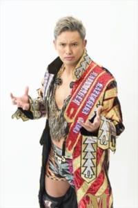 現IWGPヘビー級王者、オカダ・カズチカ選手©新日本プロレス