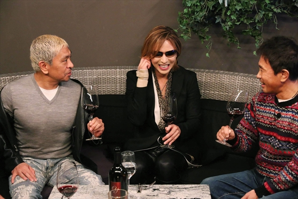 YOSHIKIがダウンタウンに激動の半生を語る!『ダウンタウンなう』1・12放送