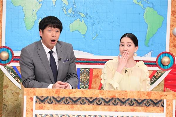 """チュート徳井&河北麻友子が初タッグ!世界の""""クギヅケ""""映像に大興奮「いいデトックスになりました」"""