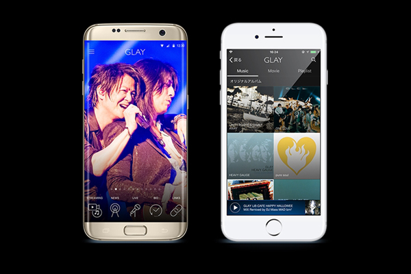 GLAYのほぼ全ての音源&MVを配信!公式音楽アプリ2・1リリース