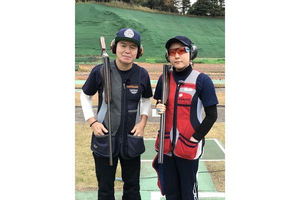 ヒロミがクレー射撃の腕前をテレビ初披露!日本女子No.1選手と対決『体育会TVSP』2・3放送